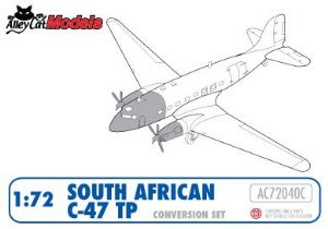 South Africa C-47TP Turbo Dak conversion